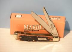 Marbles 2 blade stag trapper knife