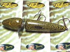 Lelure Yellow Crackle Globe Musky Lure